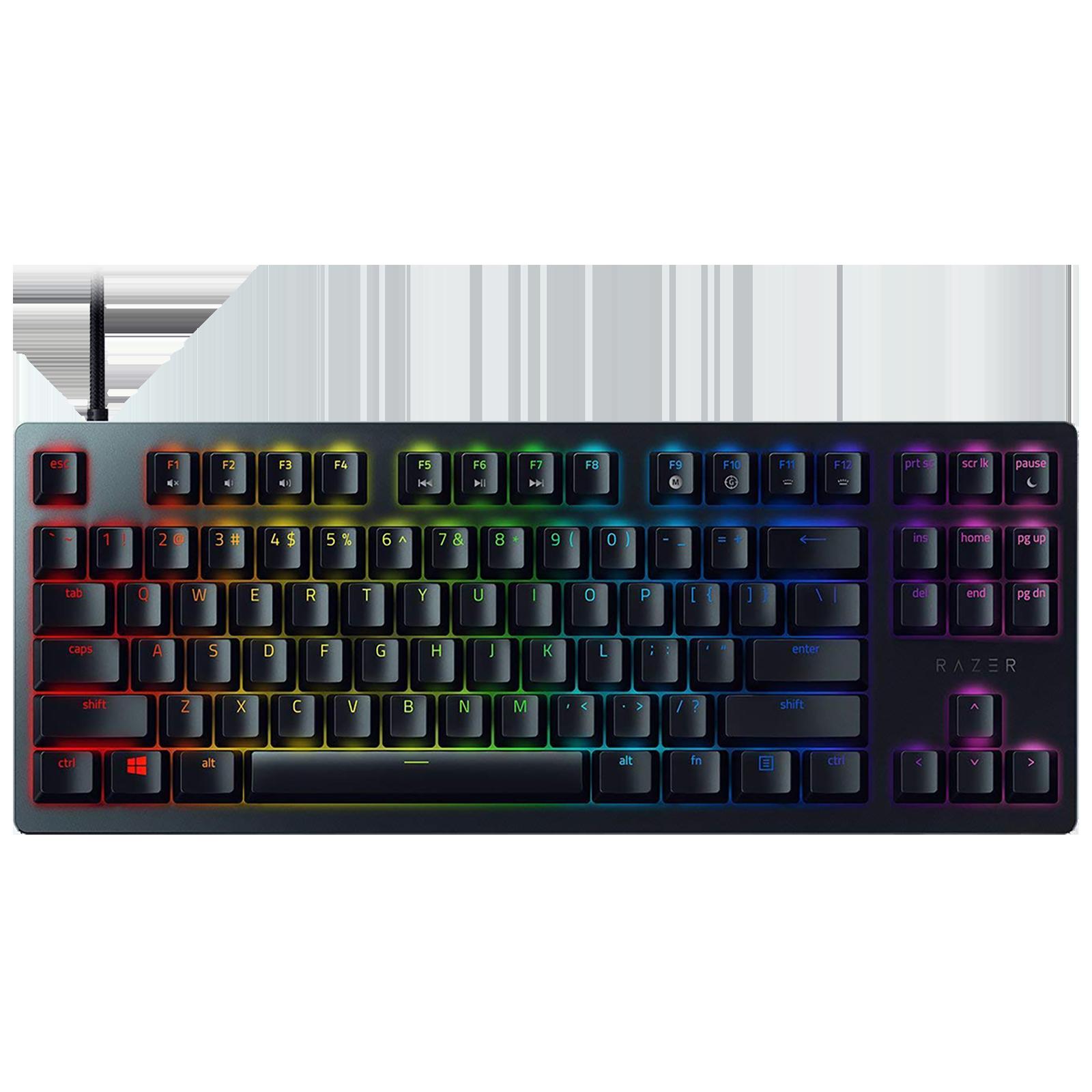 Razer Huntsman Tournament Edition Wired Gaming Keyboard (Linear Optical Switch, RZ03-03080100-R3M1, Black)_1