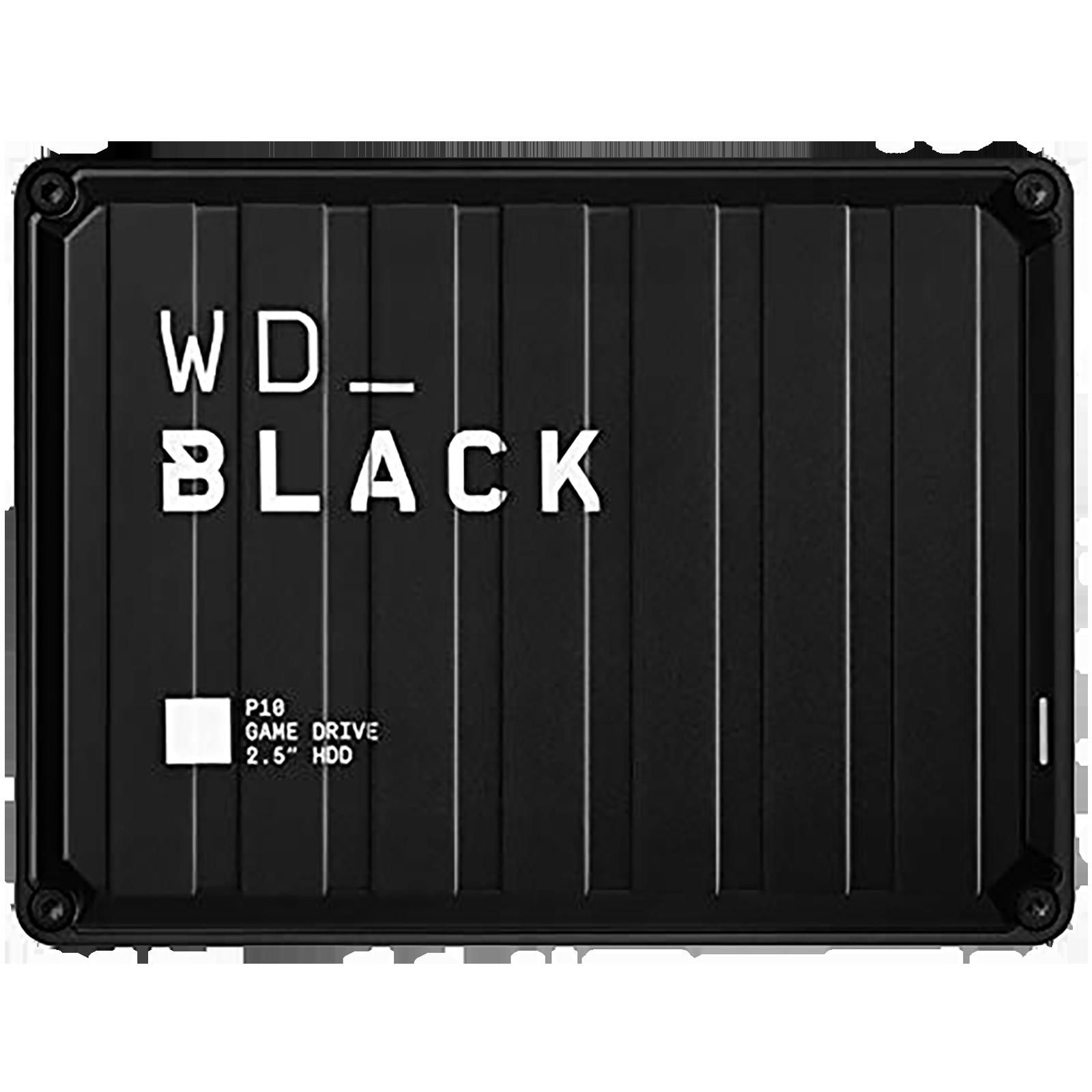 Western Digital WD_BLACK P10 4 TB USB 3.2 Game Drive (Purpose-Built For Gamers, WDBA3A0040BBK-WESN, Black)_1