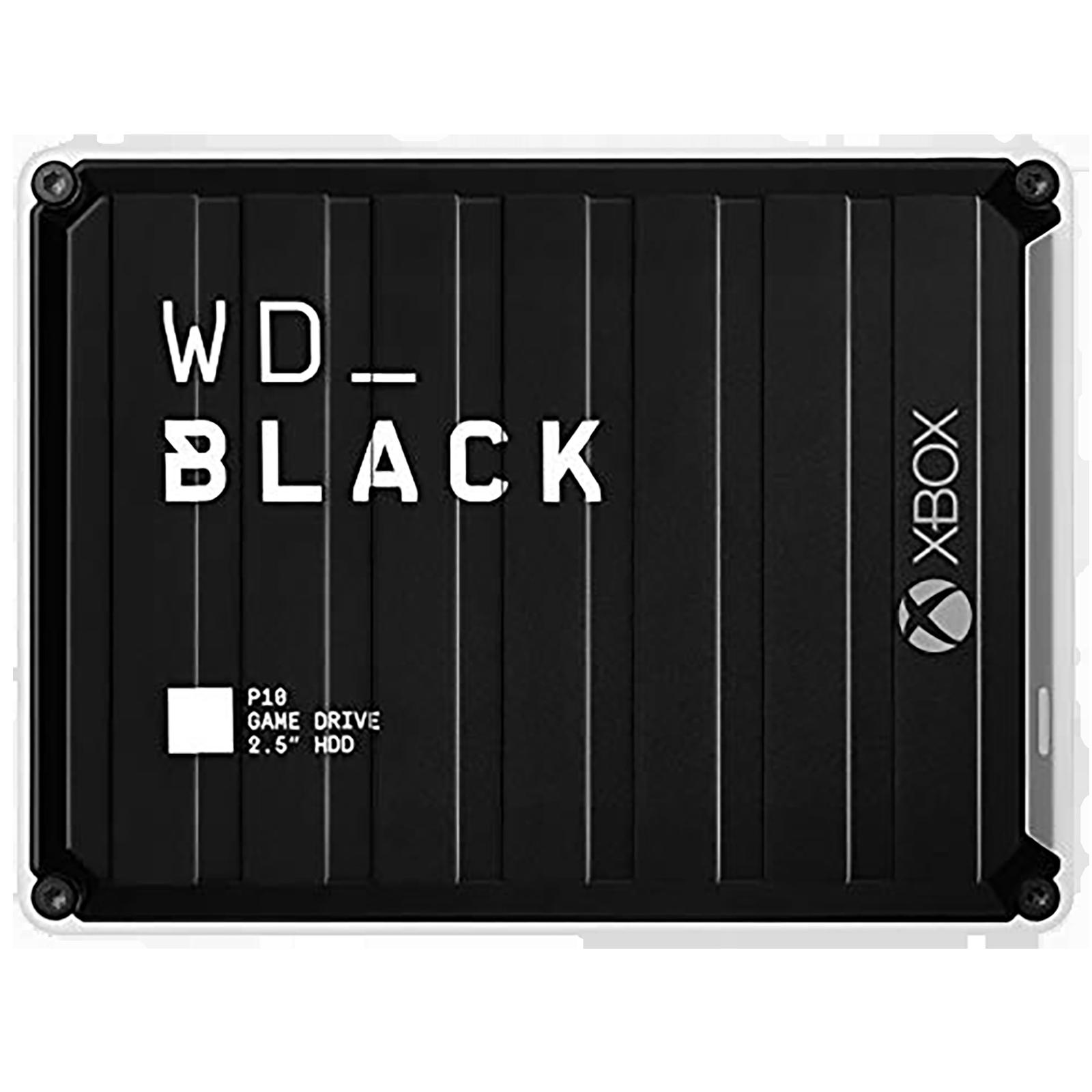 Western Digital WD_BLACK P10 5 TB USB 1.1 Game Drive (Purpose-Built For Gamers, WDBA5G0050BBK-WESN, Black)_1