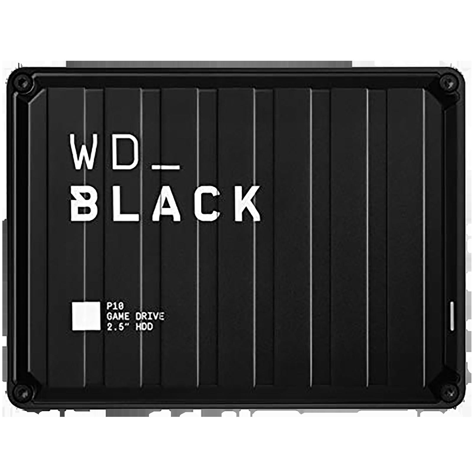 Western Digital WD_BLACK P10 2 TB USB 1.1 Game Drive (Purpose-Built For Gamers, WDBA2W0020BBK-WESN, Black)_1