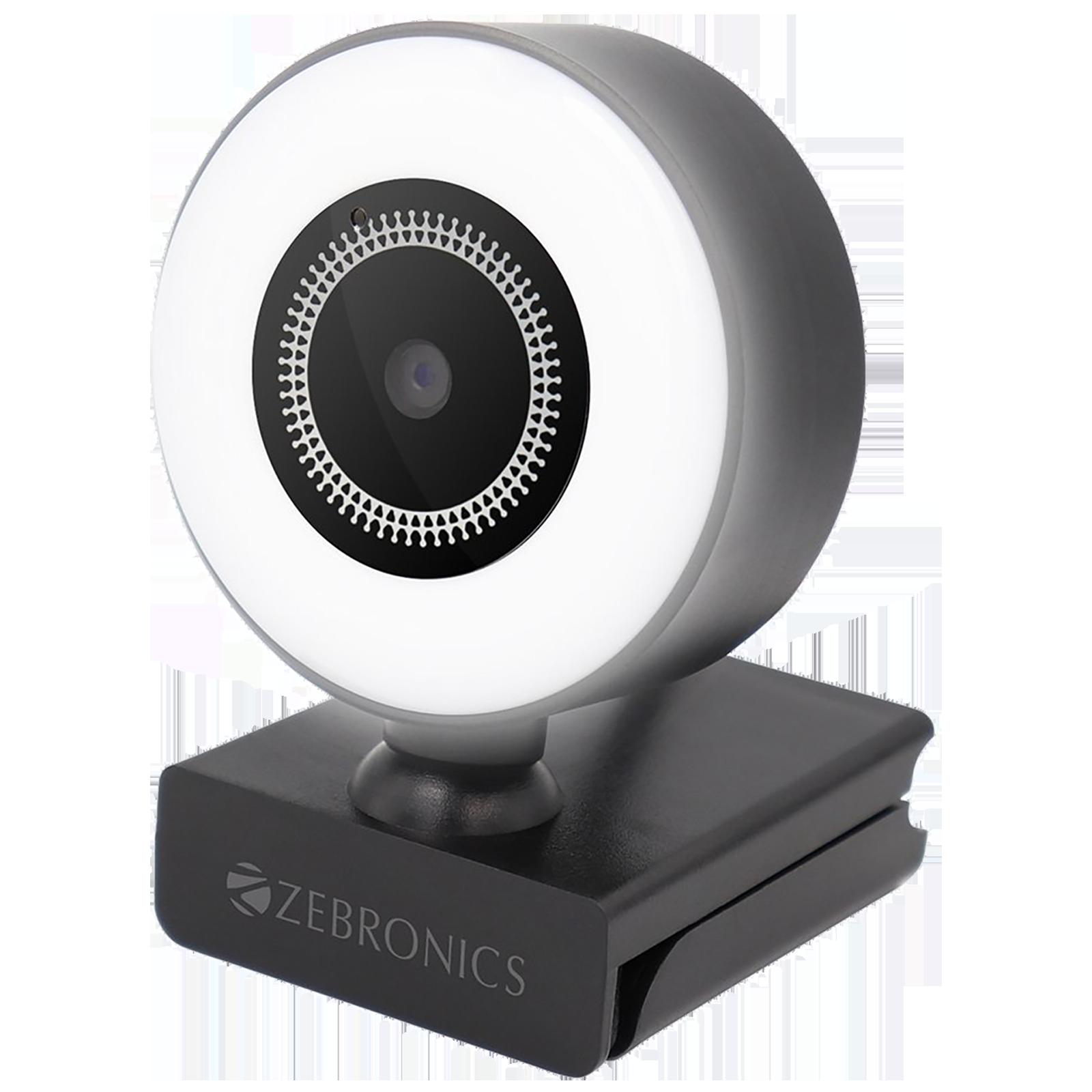 Zebronics USB Web Cam (16 LED Ring Light, ZEB-Ultimate Star, Black)_1