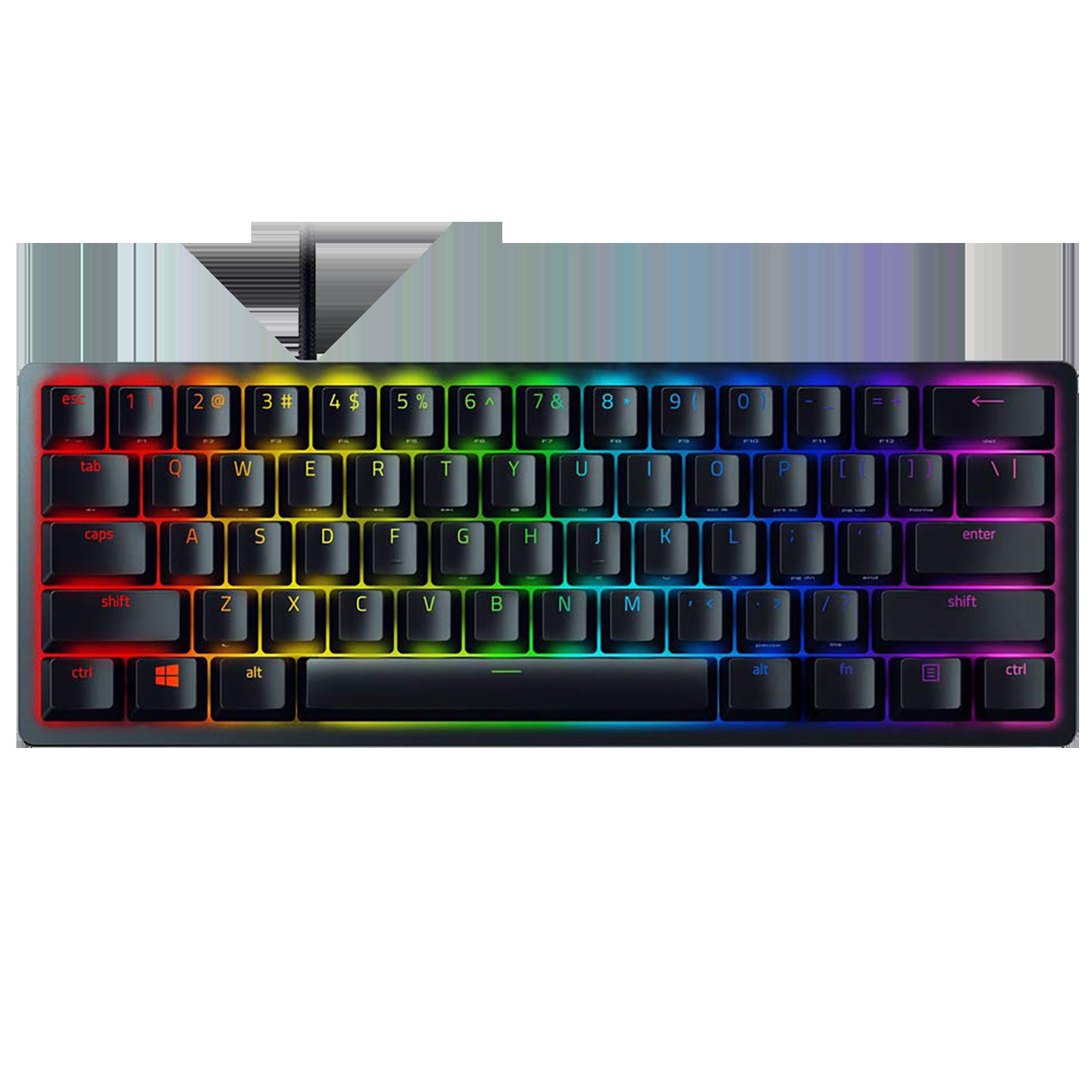 Razer Huntsman Mini Wired Gaming Keyboard (60% Linear Optical Switch, RZ03-03390200-R3M1, Black)_1
