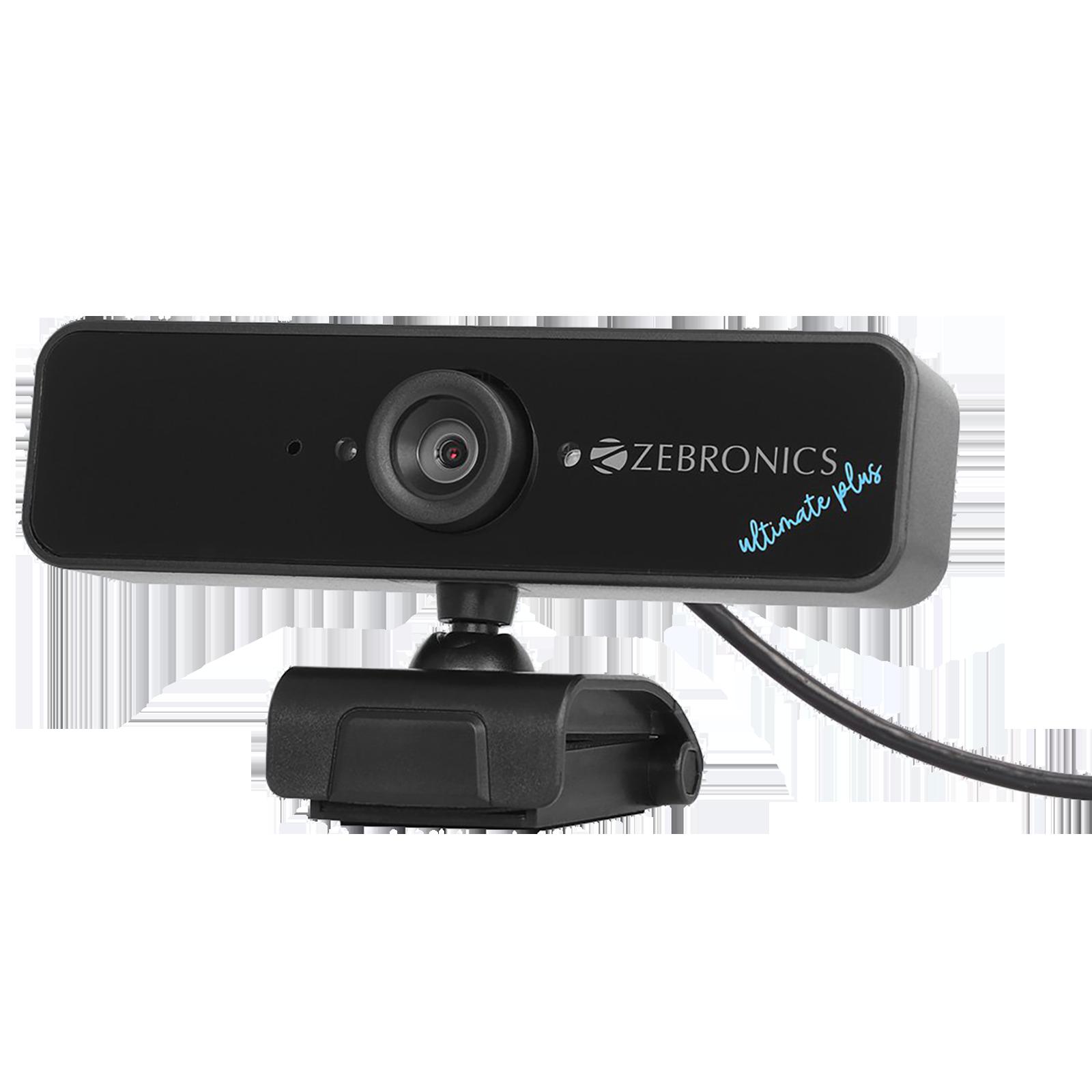 Zebronics USB Web Cam (Night Vision, ZEB-Ultimate Plus, Black)_1