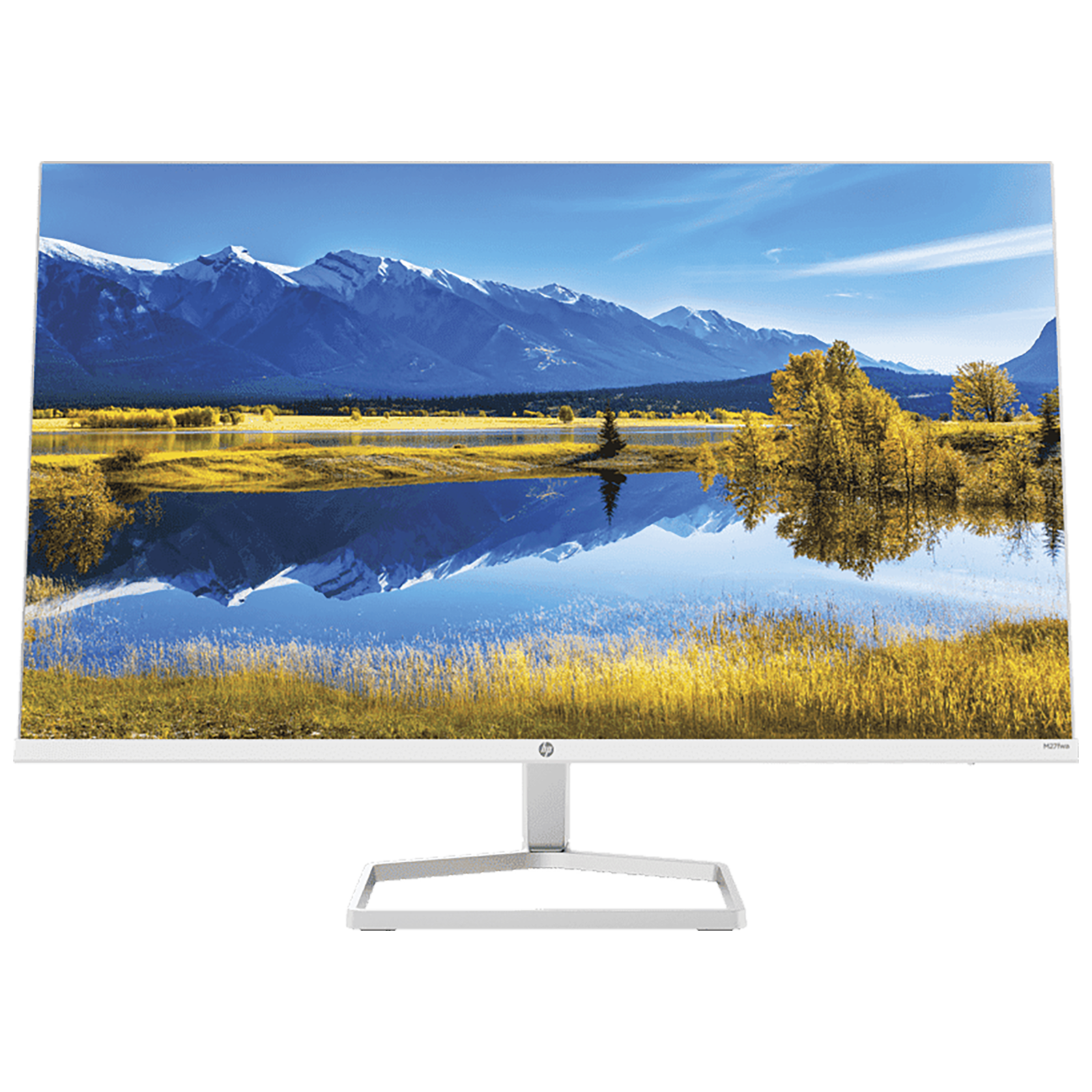 HP M27FWA 60.58cm (27 Inches) Full HD Monitor (HP Eye Ease with Eyesafe Certified Technology, 1 x HDMI 1.4 | 1 x VGA Port Connectivity, 356D6AA, Silver)_1