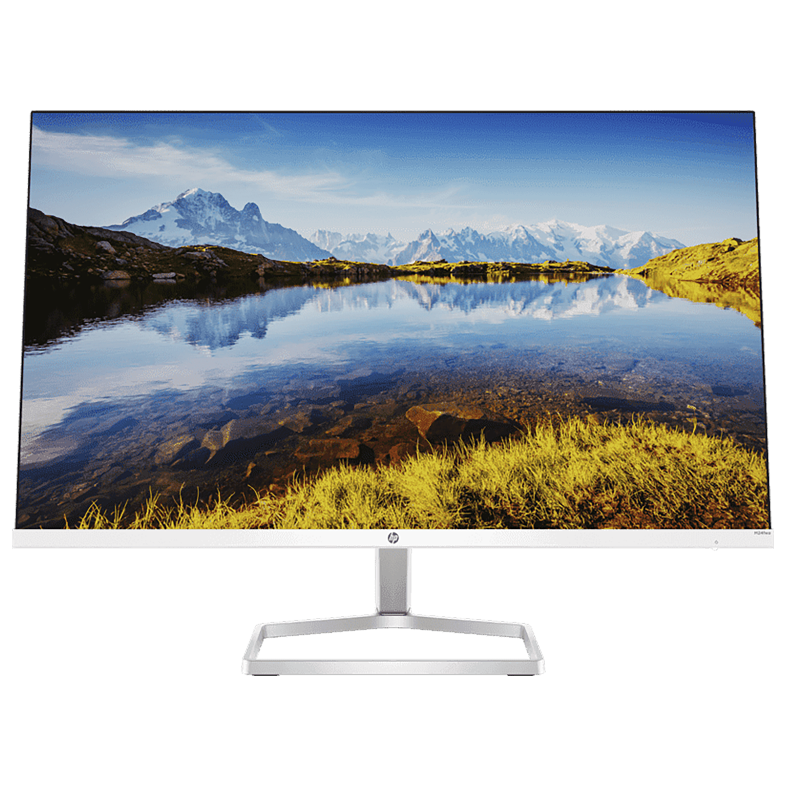 HP M24FWA 60.45cm (23.8 Inches) Full HD Monitor (HP Eye Ease with Eyesafe Certified Technology, 1 x HDMI 1.4 | 1 x VGA Port Connectivity, 34Y23AA, Silver)_1