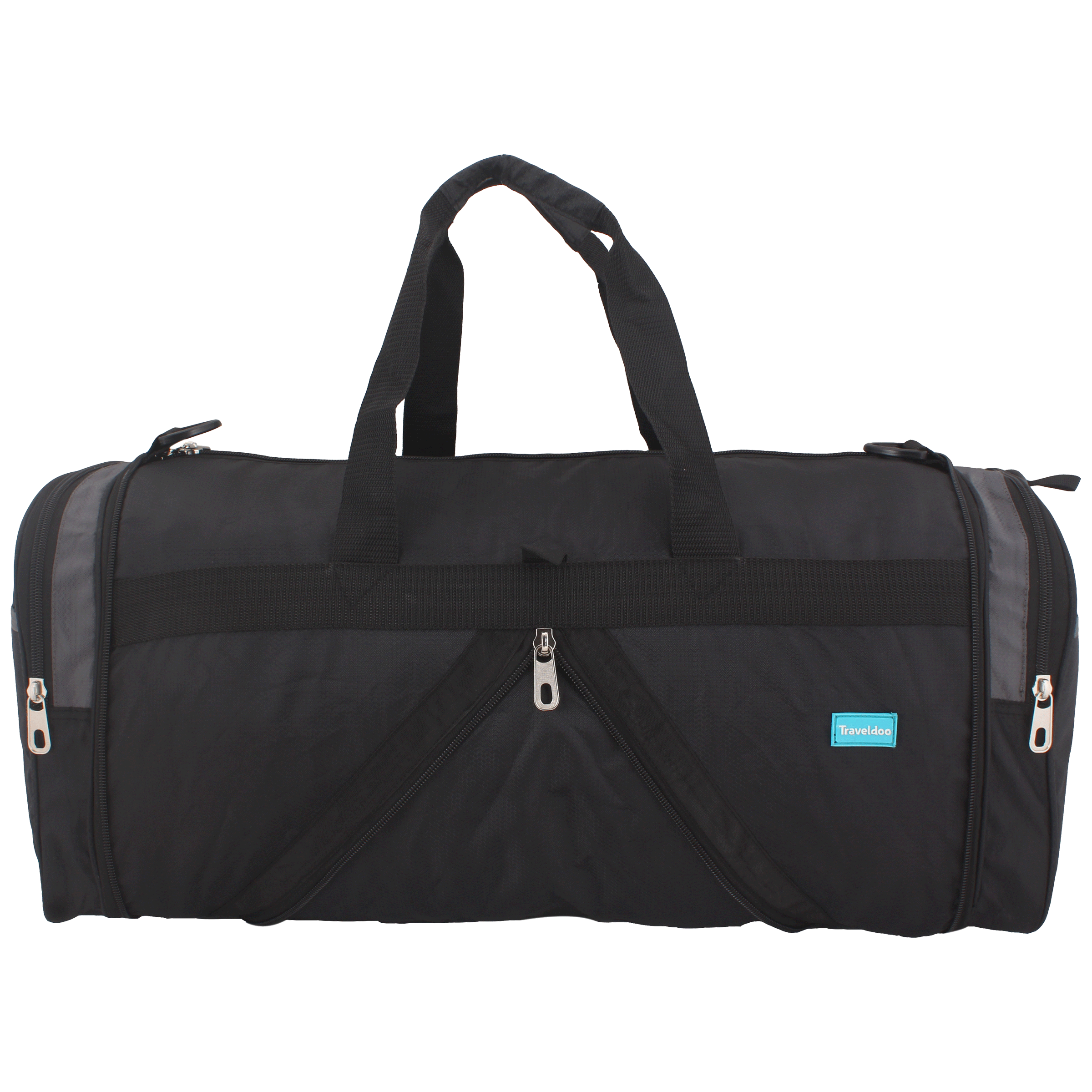 Traveldoo 18 inch Square Folding Duffle Bag (DBS01003, Grey)_1