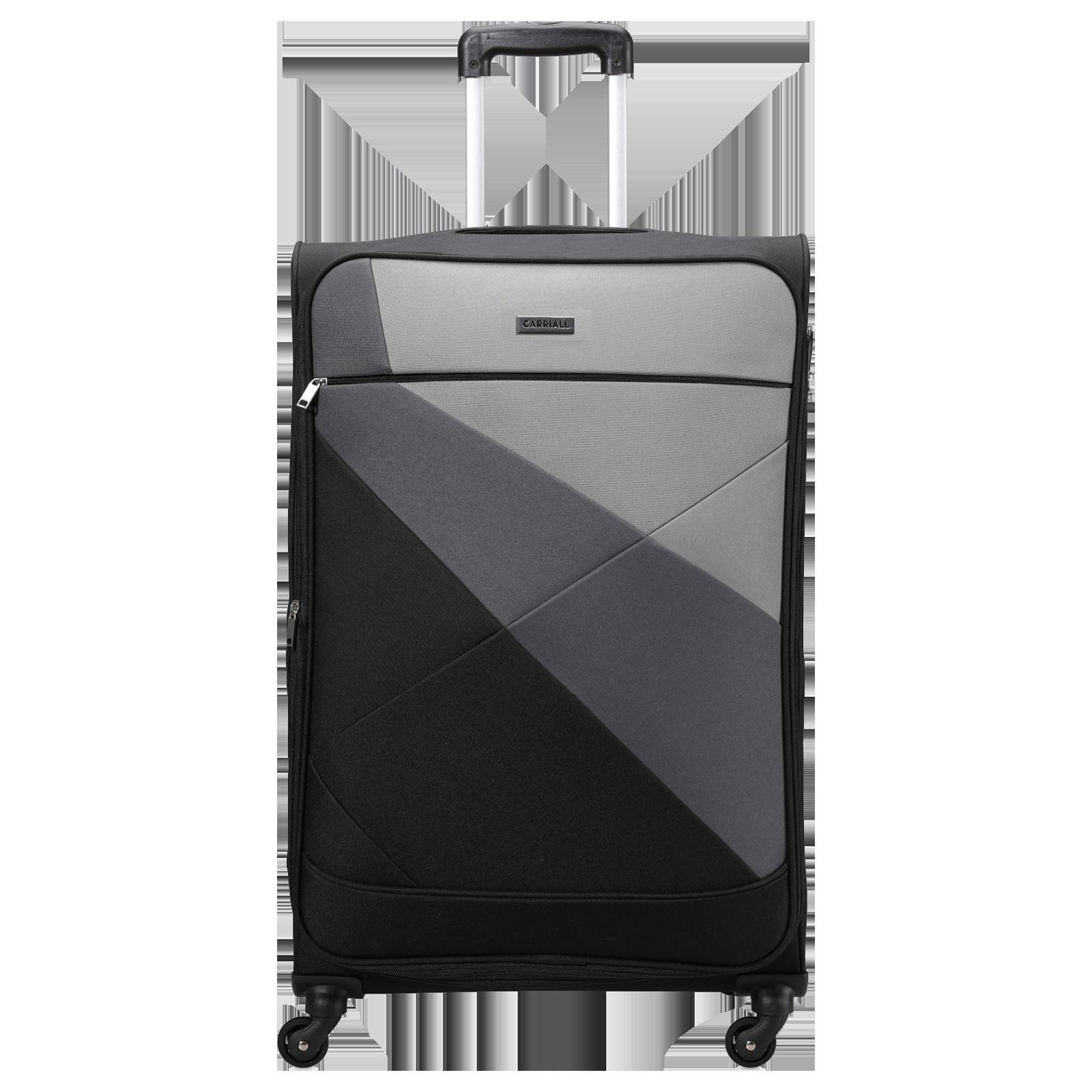 Carriall Vista Trolley Bag (Combination Lock, CASLVL001, Black)_1
