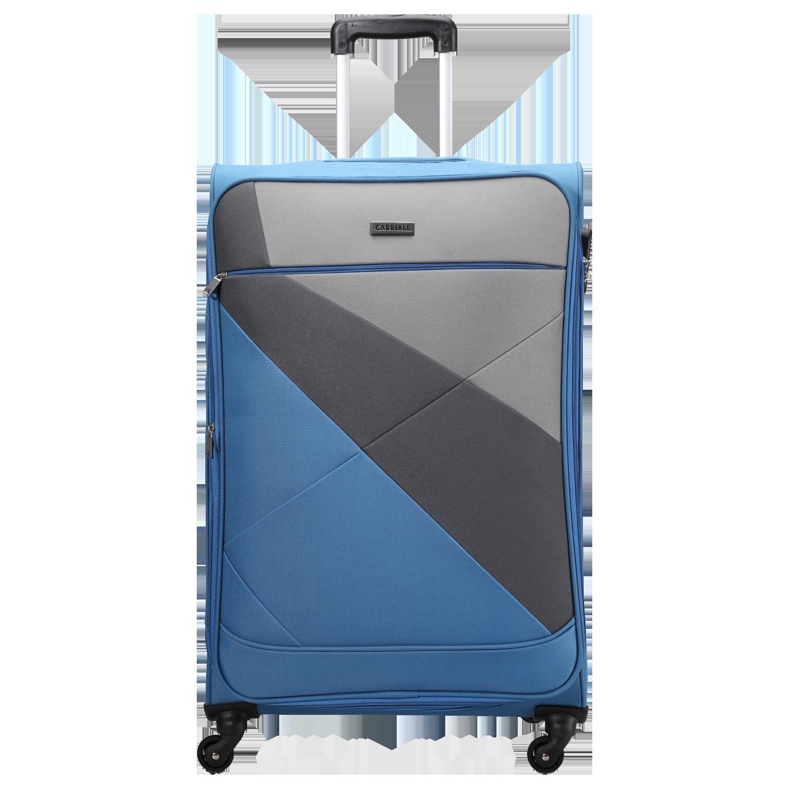 Carriall Vista Trolley Bag (Combination Lock, CASLVL002, Blue)_1