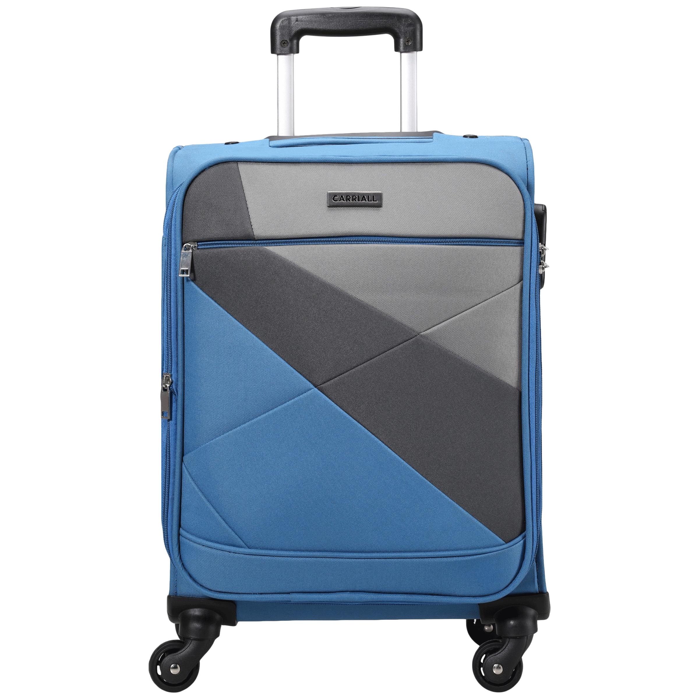 Carriall Vista Trolley Bag (Combination Lock, CASLVS002, Blue)_1