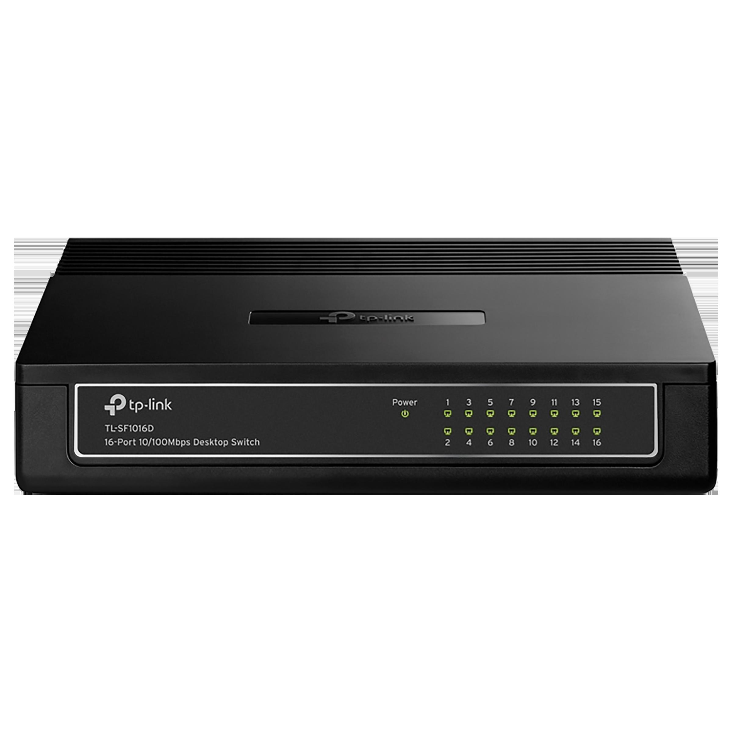 Tp-Link TL-SF1016D V7 Switch/Plug (Green Ethernet Technology, 1730502160, Black)_1