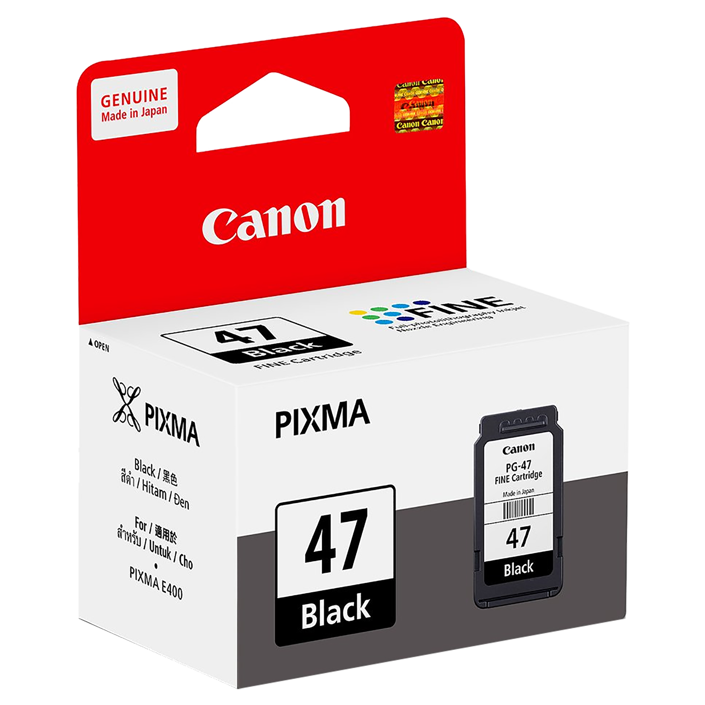 Canon Pixma PG-47 Ink Cartridge (9057B005AE, Black)_1