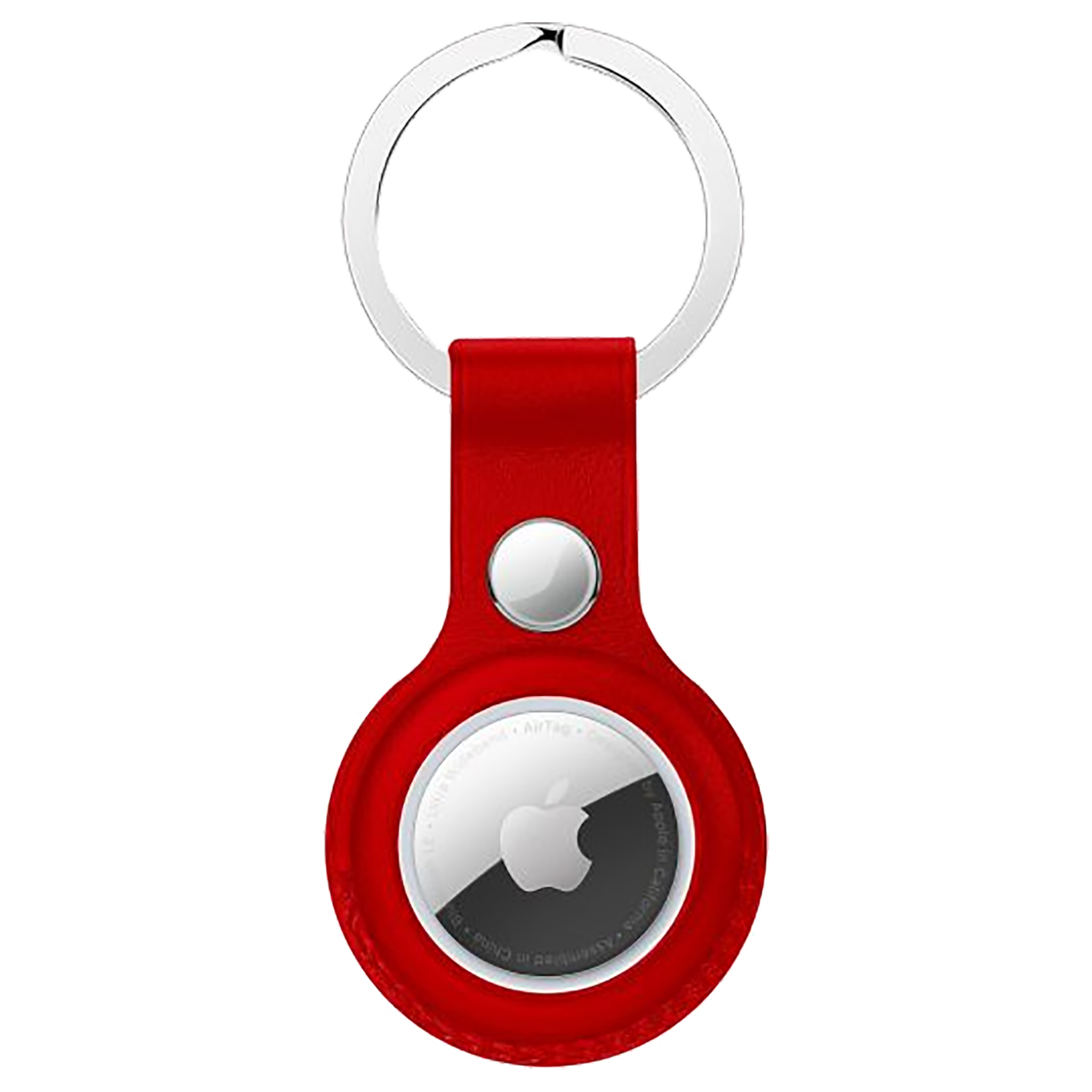 HYPHEN HAT-KRLRED5758 Polyurethane Silicone Key Ring Case (Lightweight & Durable, Red)_1