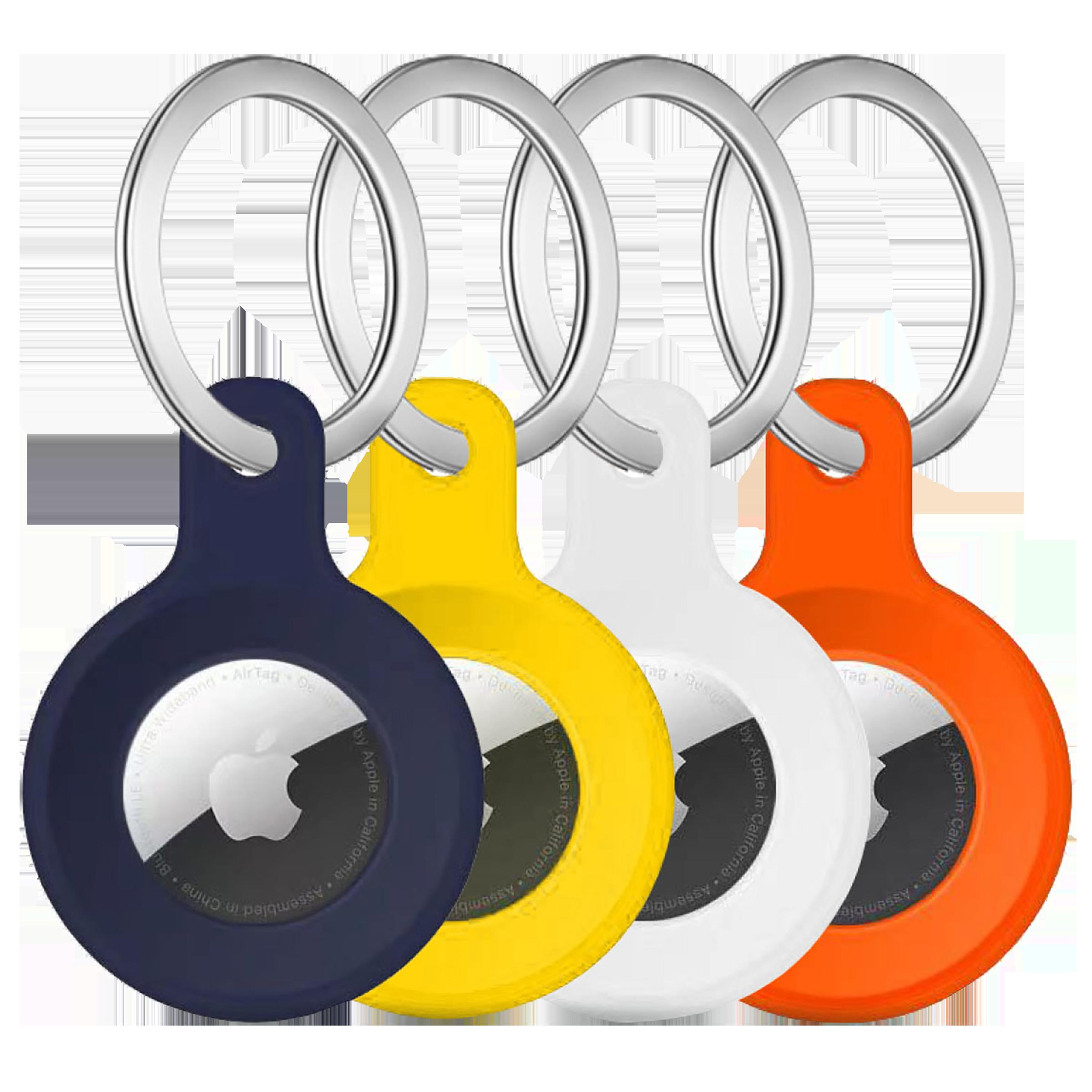 HYPHEN HAT-LCSPNK5208 Polyurethane Silicone Key Ring Case (Lightweight & Durable, Multicolor)_1