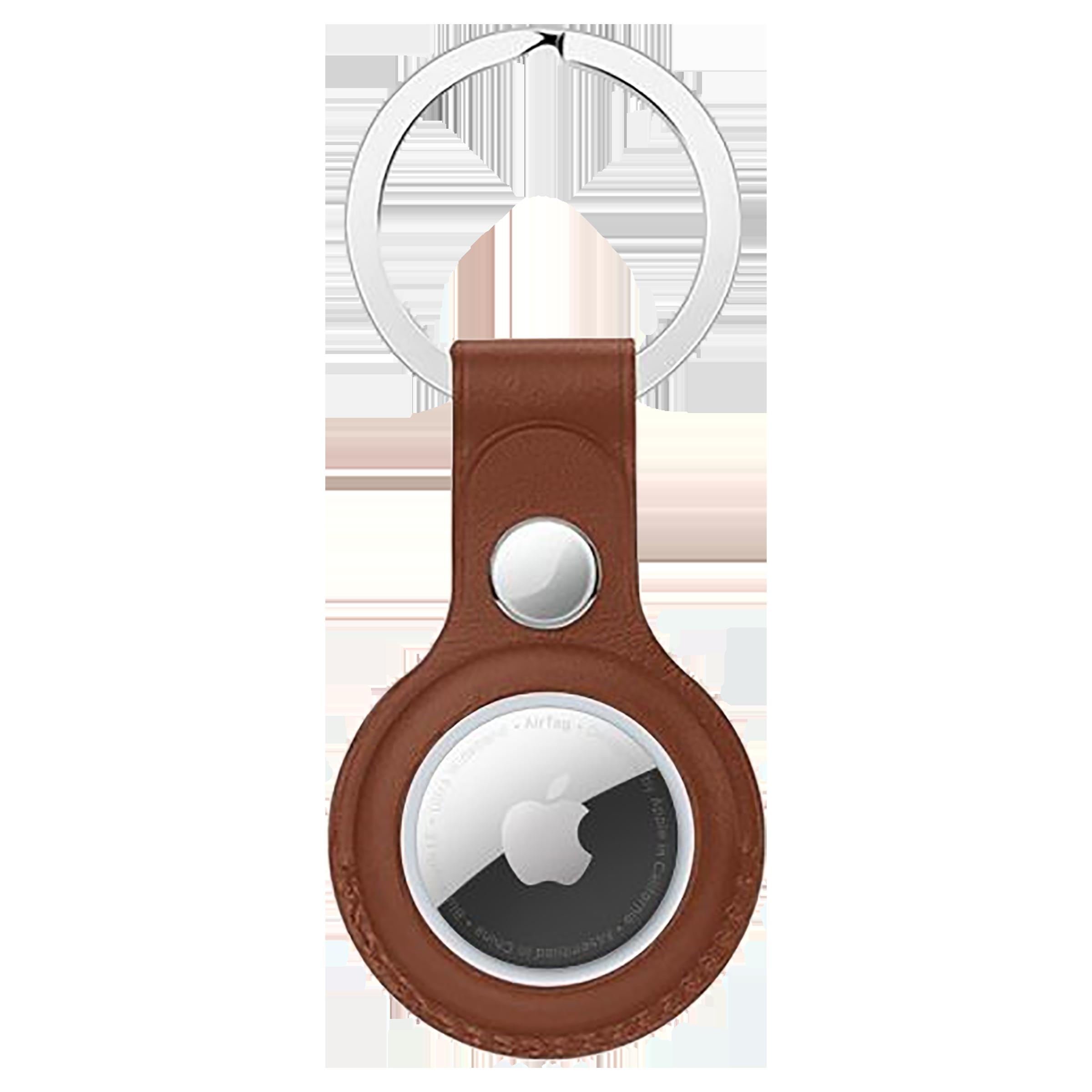 HYPHEN HAT-KRLBRN7592 Polyurethane Silicone Key Ring Case (Lightweight & Durable, Brown)_1