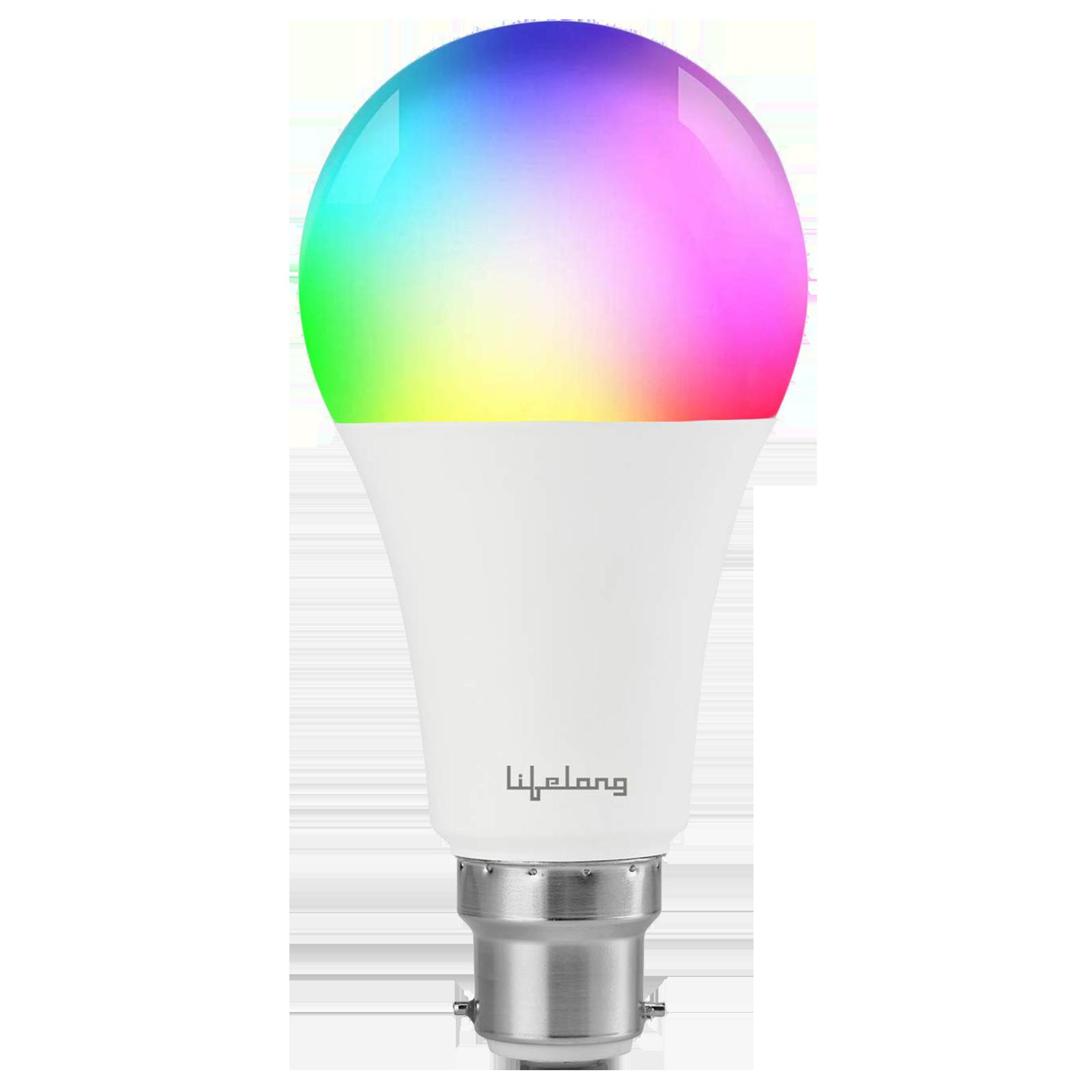 Lifelong 12 Watts Electric Powered LED Bulb (1080 Lumens, LLSB12W, Multicolor)_1