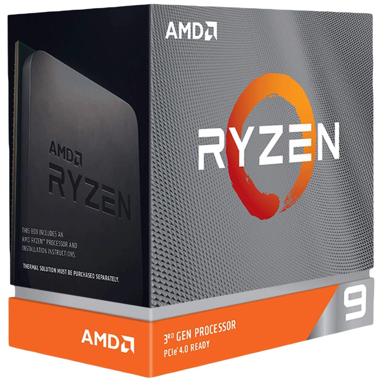 AMD Ryzen 9 Desktop Processor (16 Cores, 3.5GHz, 7nm Zen 2 Architecture, 3950X, Silver)_1