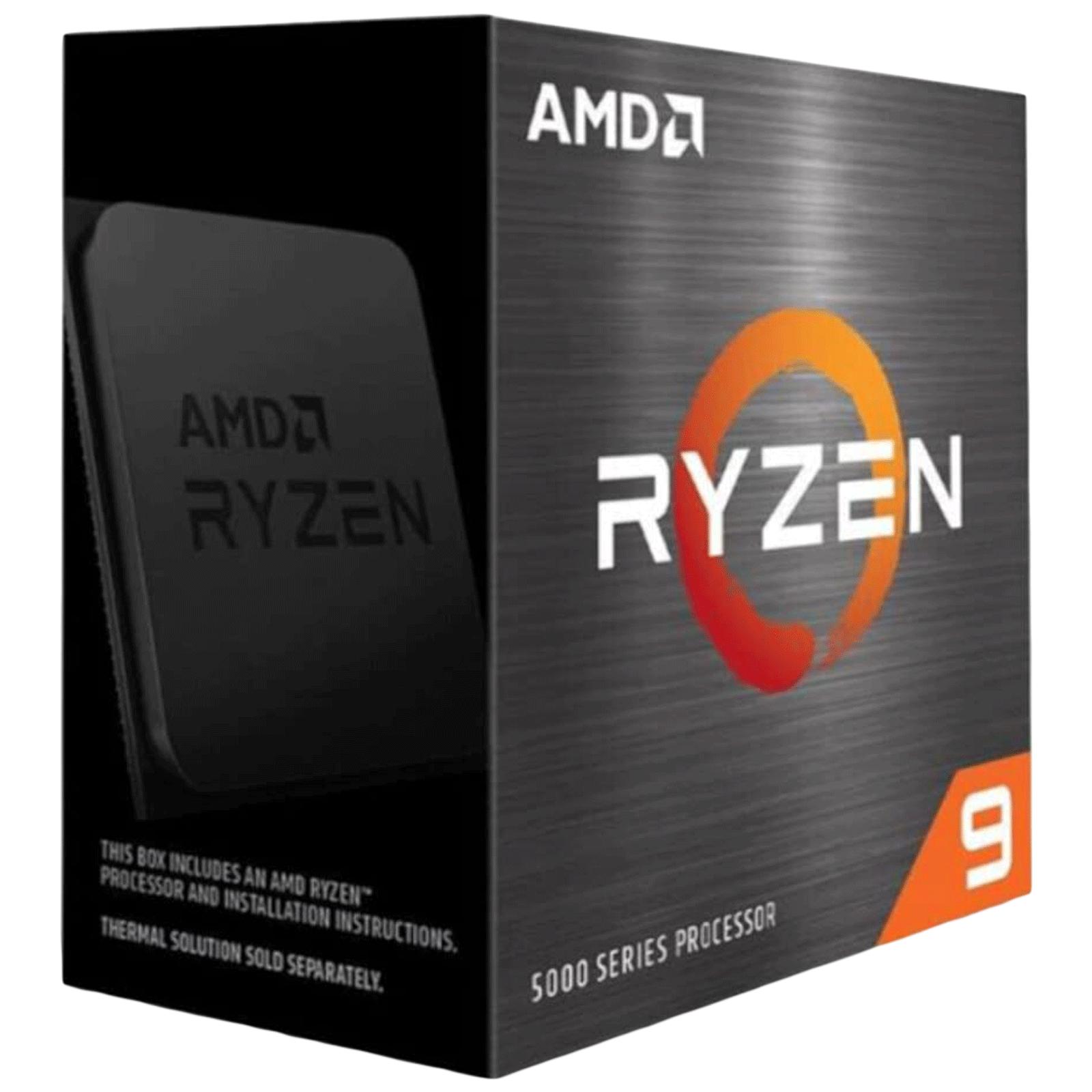 AMD Ryzen 9 Desktop Processor (12 Cores, 3.4 GHz, AMD StoreMI Technology, 5900X, Silver)_1