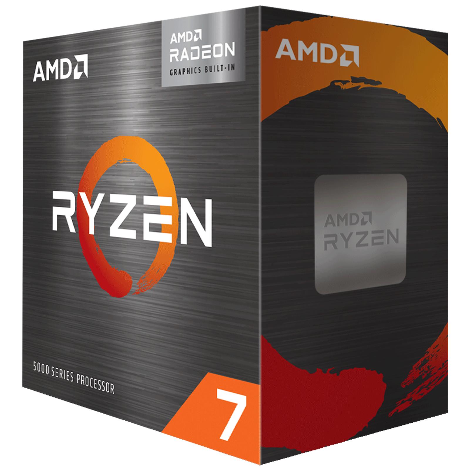 AMD Ryzen 7 Desktop Processor (8 Cores, 3.8 GHz, PCIe 3, 5700G, Silver)_2
