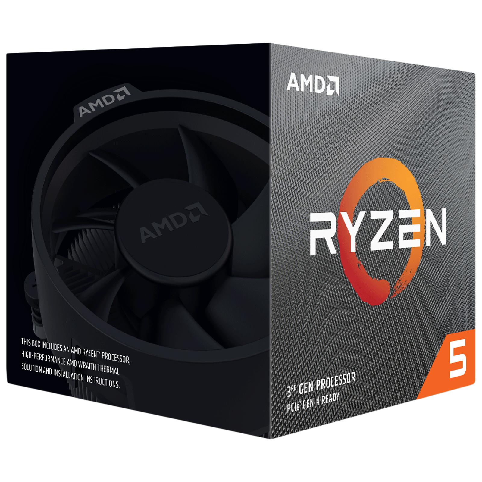 AMD Ryzen 5 Desktop Processor (6 Cores, 3.8 GHz, AMD Zen Core Architecture, 3600XT, Silver)_1
