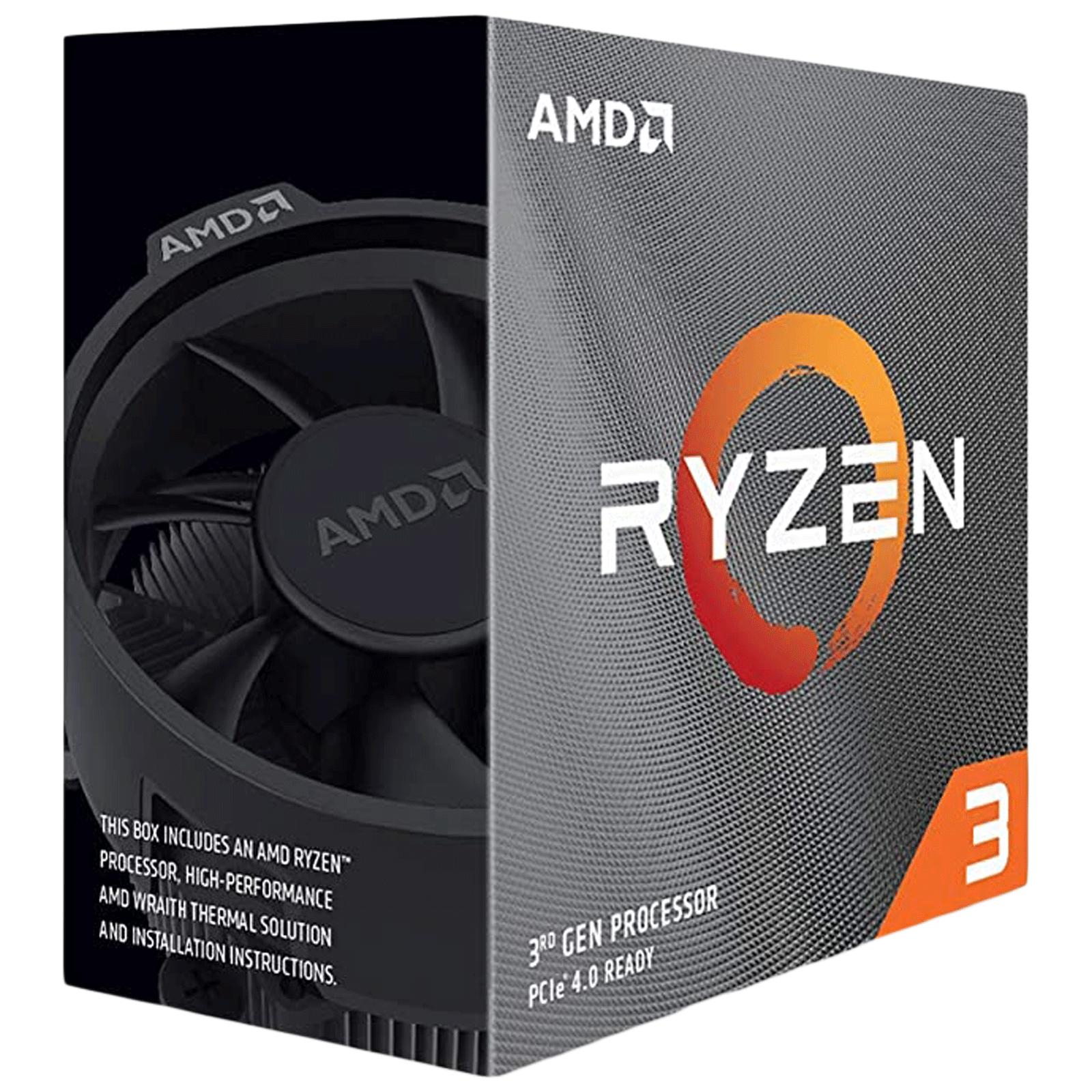 AMD Ryzen 3 Desktop Processor (4 Cores, 3.6 GHz, Unlocked For Overclocking, 3100, Silver)_1