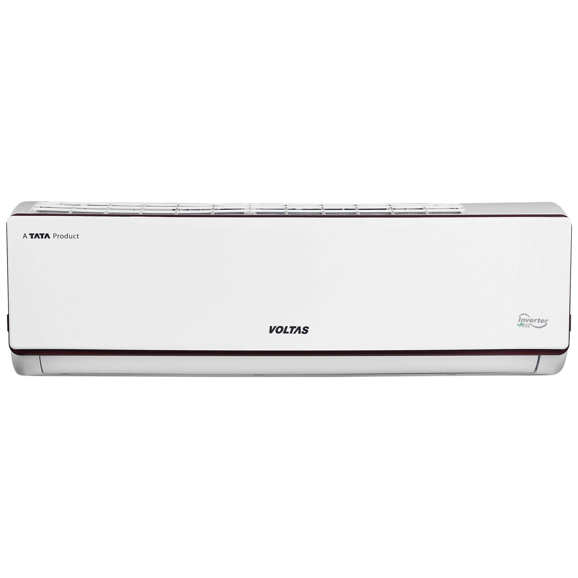 Voltas SAC 1.4 Ton 3 Star Inverter Split AC (Copper Condenser, 173V ADJ, White)_1