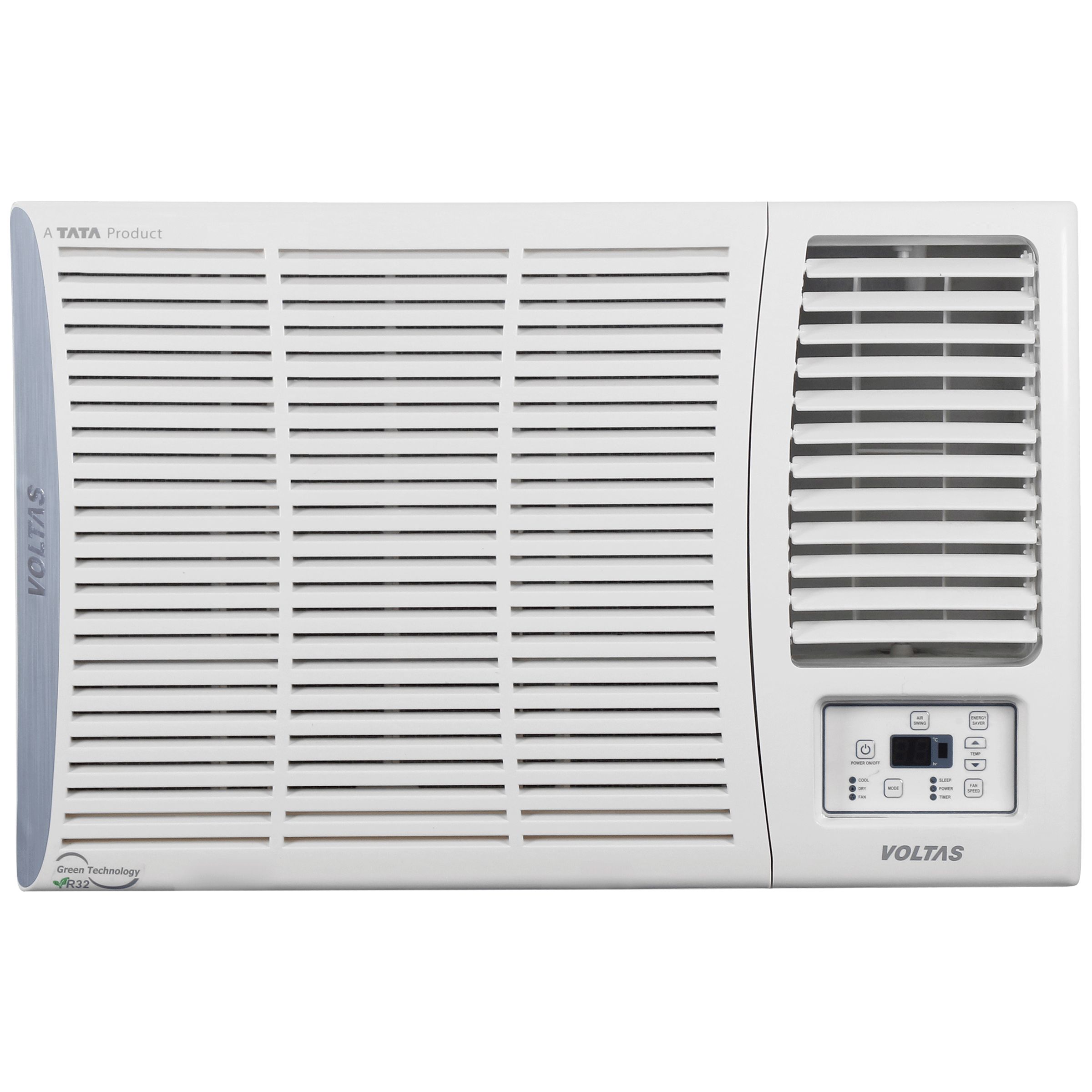 Voltas 173V ADA 1.4 Ton 3 Star Inverter Window AC (Copper Condenser, WAC 173V AD, White)_1