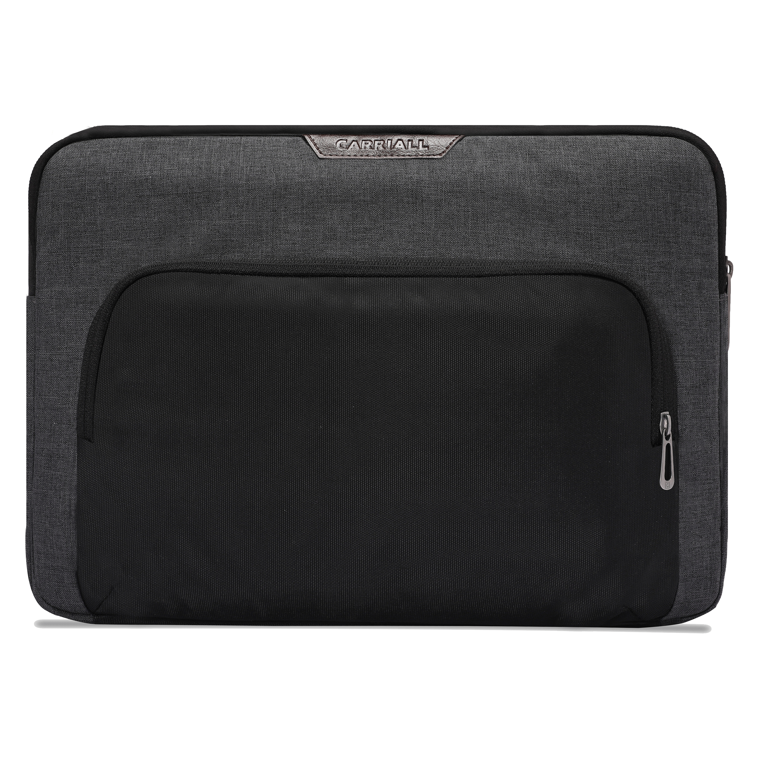 Carriall Noble Durable Fabric Sleeve for 15 Inch MacBook (Water-Resistant, CALSNOBLE05, Black)_1