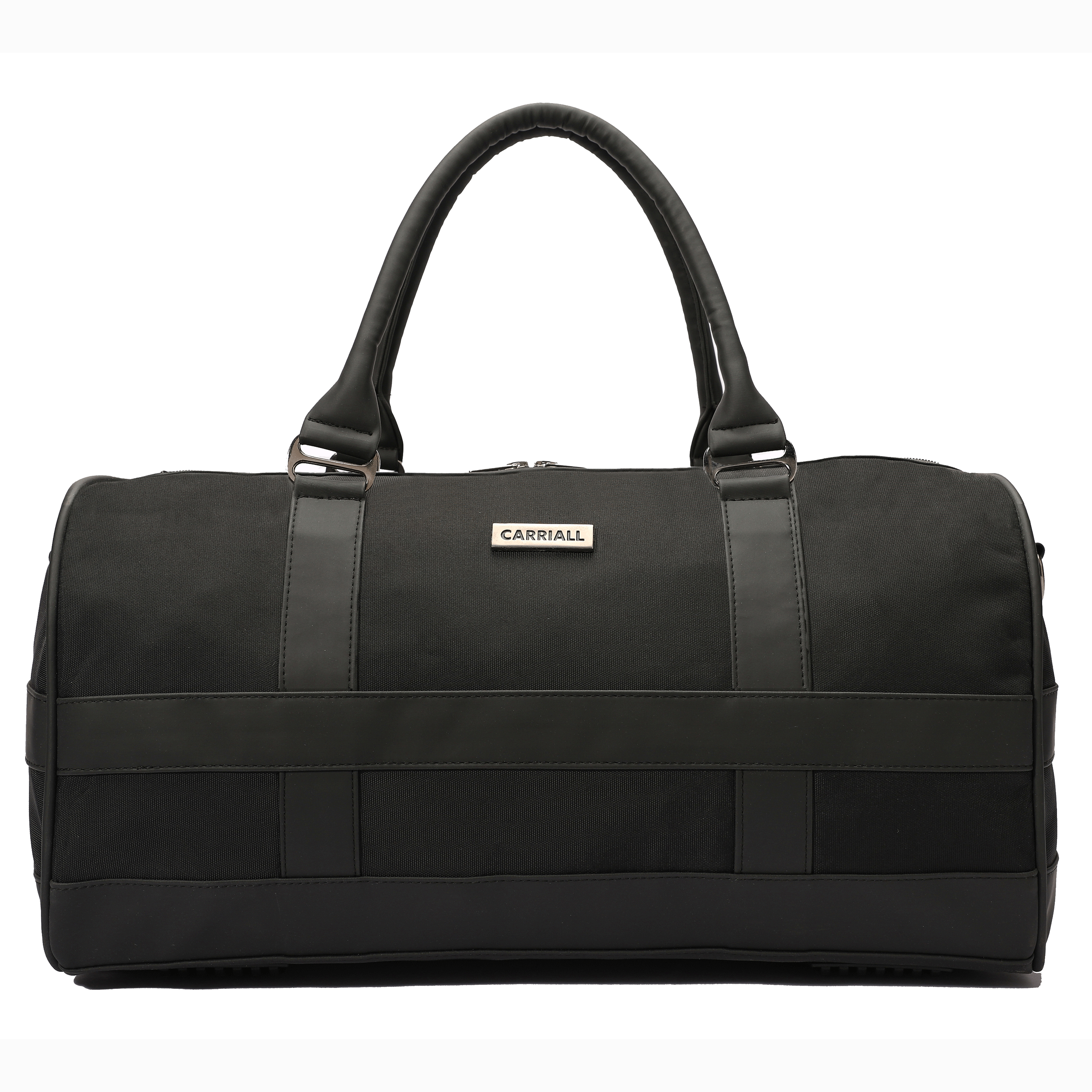 Carriall Poise Durable Fabric Duffle Bag (Water-Resistant, CADBPOS01, Black)_1