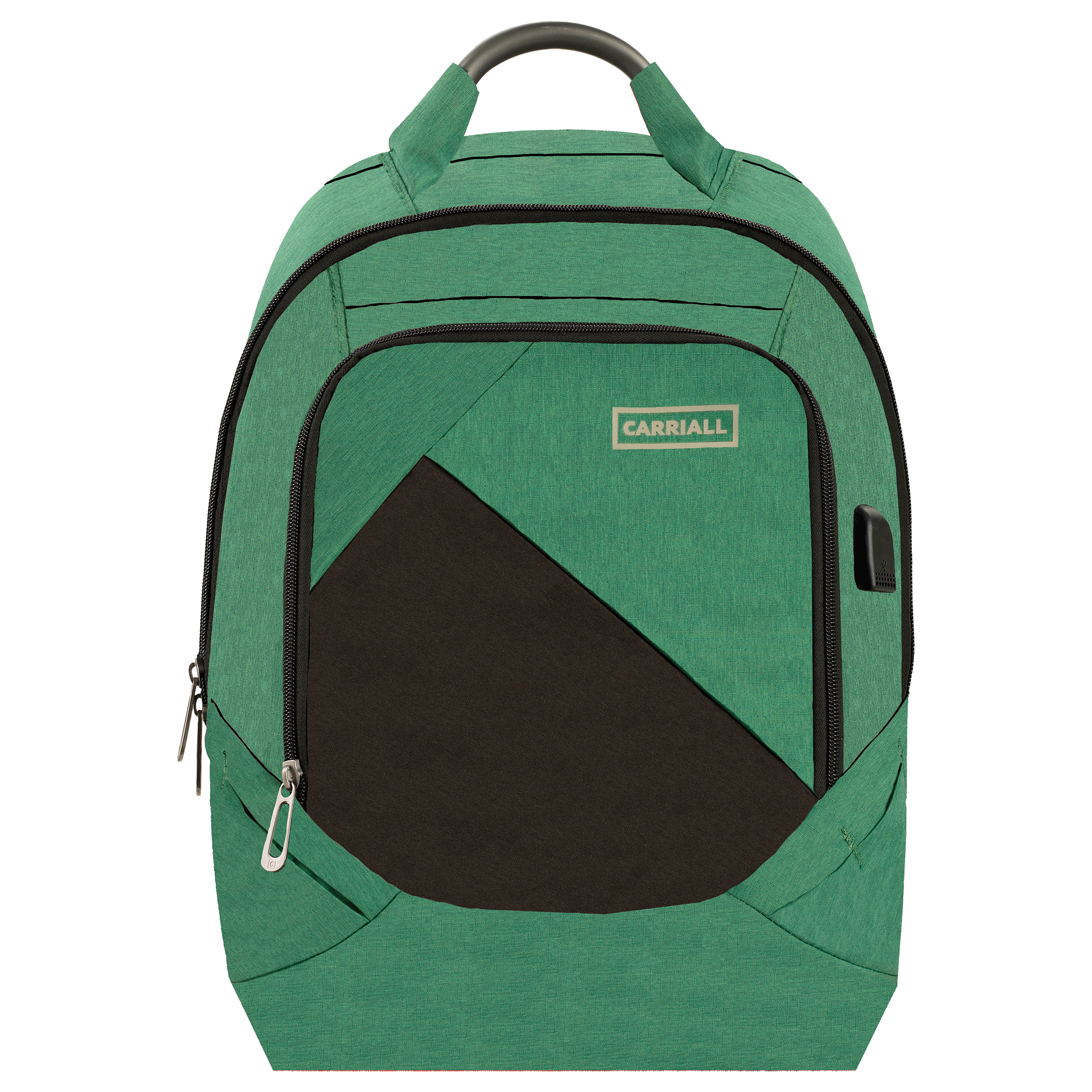 Carriall Minikin 30 Litres Polyester Backpack for Laptop (Charging Port, CABK0012, Green)_1