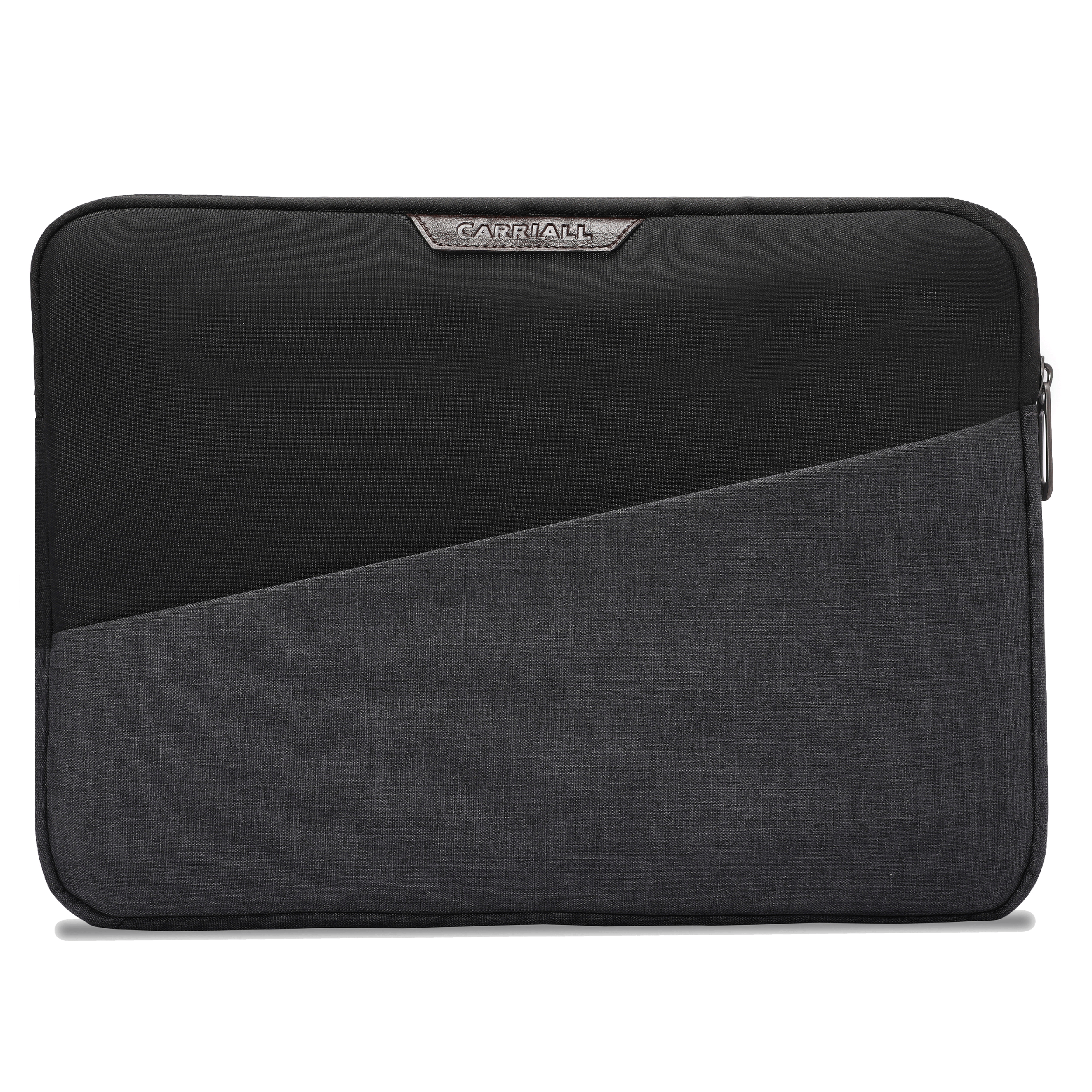 Carriall Ascent Durable Fabric Sleeve for 13 Inch MacBook (Water-Resistant, CALSASCENT4, Black)_1