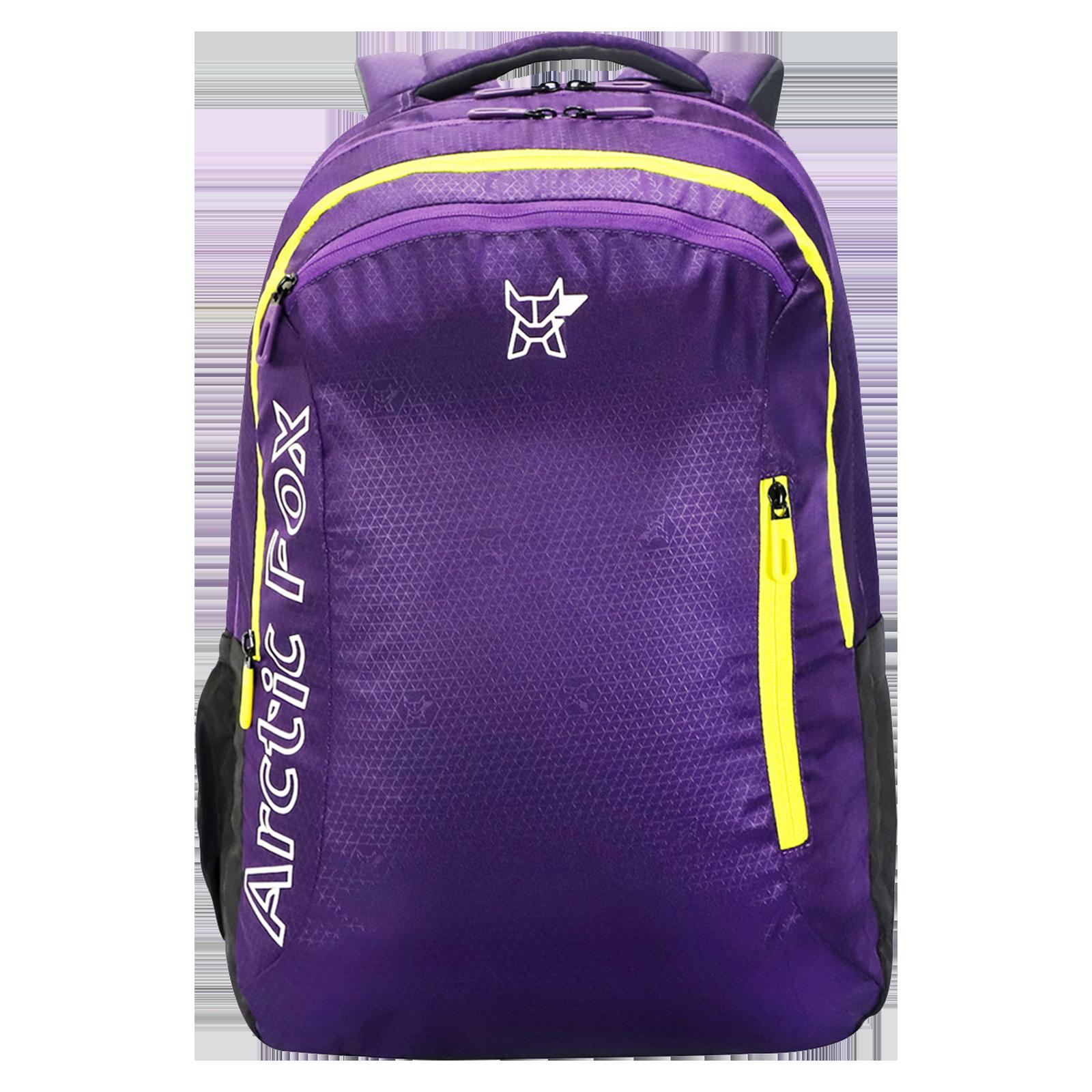 Arctic Fox 40 Litres Polyester Backpack(Drawstring Rain Cover, FJUBPKPETON028040, Purple)_1