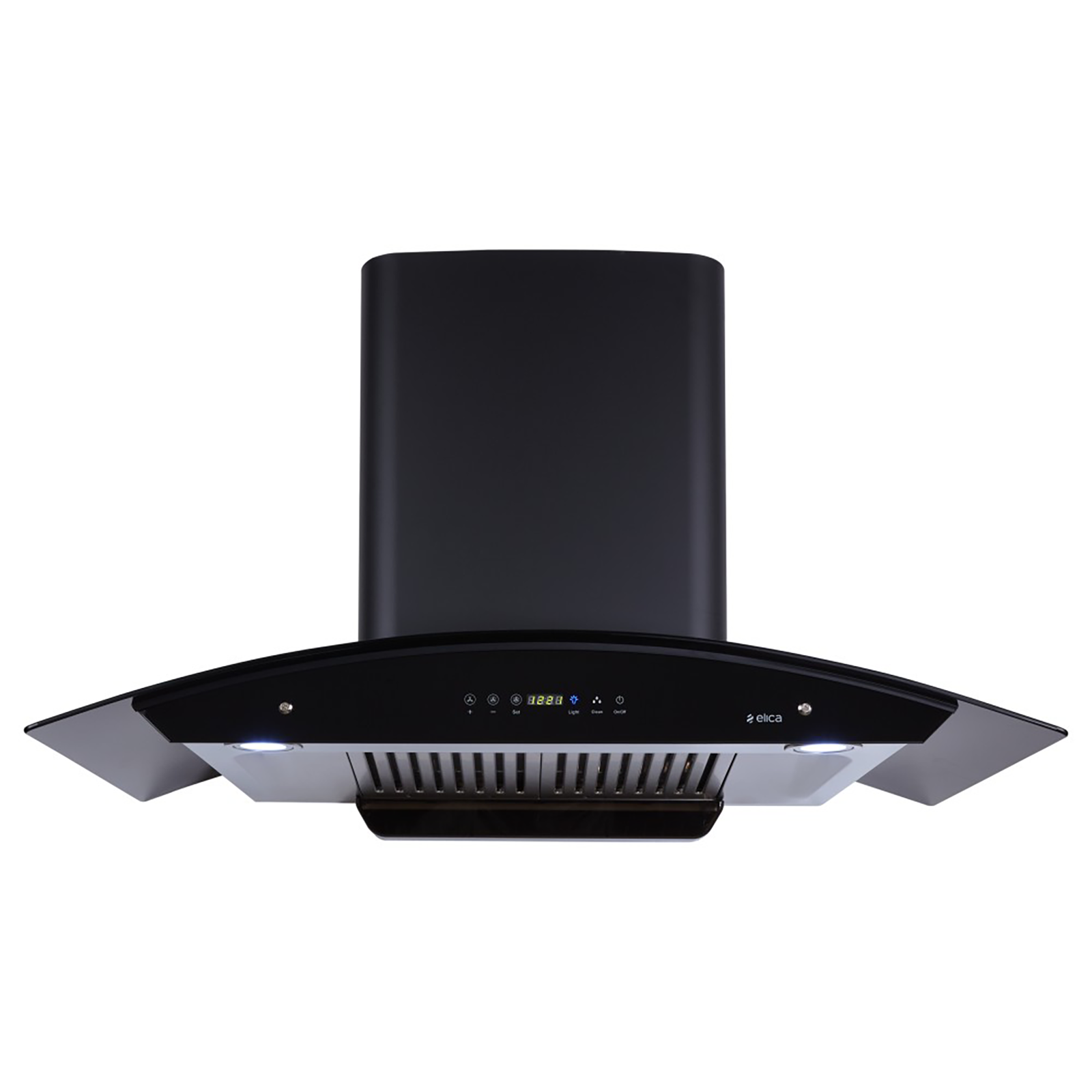 Elica 1200 m³/hr 90cm Wall Mount Chimney (Touch Control, WD HAC Touch BF 90, Black)_1