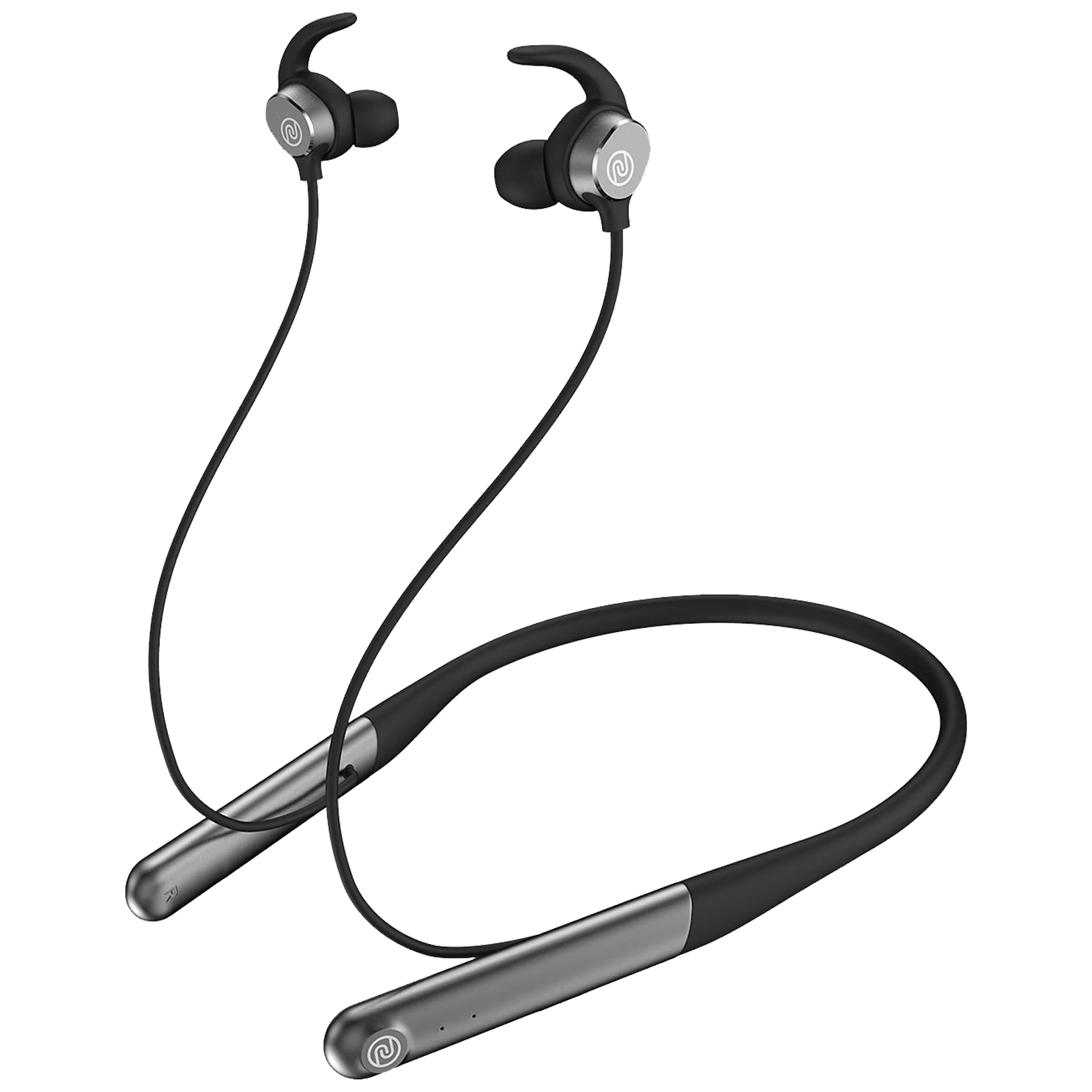 Noise Flair In-Ear Active Noise Cancellation Wireless Earphone with Mic (Bluetooth 5.0, Fast Charge Technology, Carbon Black)_1