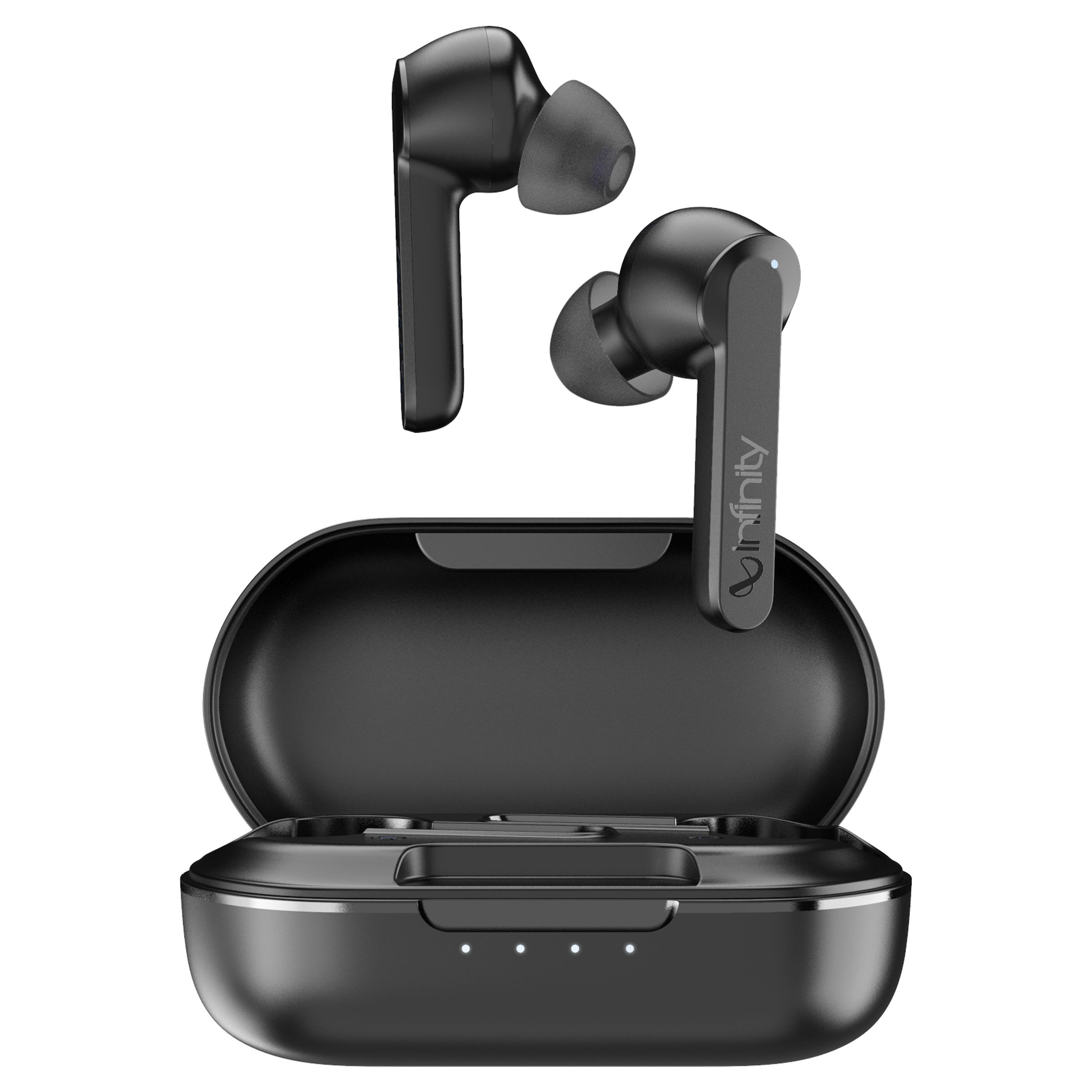 Infinity Swing 300 In-Ear Truly Wireless Earbuds with Mic (Bluetooth 5.0, Handsfree Stereo Calls, INFSWG300PBLK, Black)_1