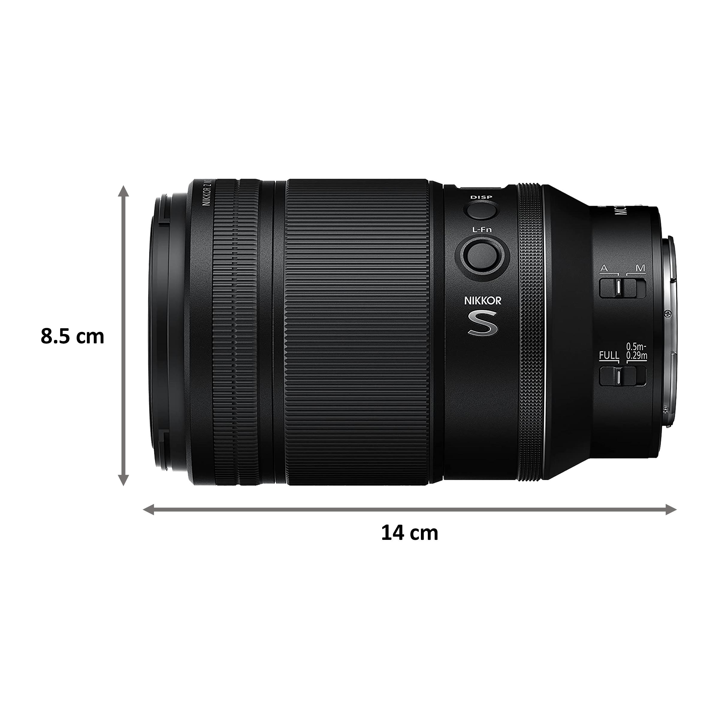 Lens - Nikon Nikkor Z MC 105mm f/2.8 VR S105 mm F32-F2.8 Macro Lens (1:1 Magnification, JMA602DA, Black)_2